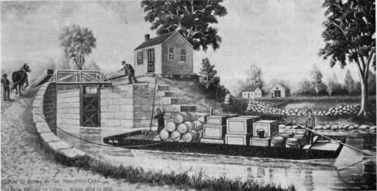 Northern New England Chapter & Southern New England Chapter Event: Joint Tour of the Middlesex Canal - Saturday, May 3, 2014