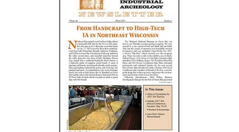 SIA Newsletter Winter 2017 Volume 46, Number 1 Published