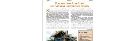 SIA NEWSLETTER V. 46 N. 3 SUMMER 2017 PUBLISHED