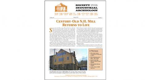 SIA Newsletter Volume 49 No. 2 - Spring, 2020 Published