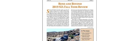 SIA Newsletter Volume 49 No. 1 - Winter, 2020 Published